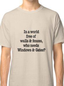 Windows & Gates Classic T-Shirt