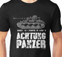 ACHTUNG PANZER - PANZER IV Unisex T-Shirt