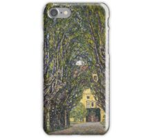 Gustav Klimt - Walk In The Park Of Castle Chamber, 1912 Detal iPhone Case/Skin