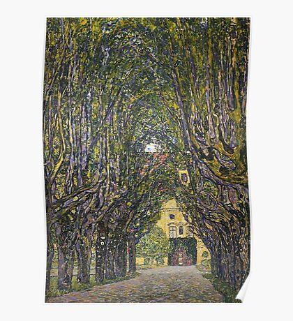 Gustav Klimt - Walk In The Park Of Castle Chamber, 1912 Detal Poster