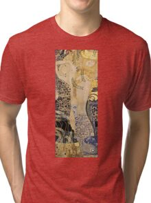 Gustav Klimt - Water Serpents I, 1907  Tri-blend T-Shirt