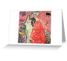 Gustav Klimt - Women Friends  Greeting Card