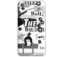 Cedar Lounge, Youngstown, Ohio, 1981. Poster 2: B-Minors, 8-Balls iPhone Case/Skin