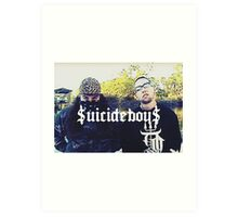 $UICIDEBOY$ (SUICIDEBOYS) Art Print