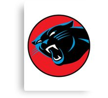 Carolina Panthers Thundercats Canvas Print
