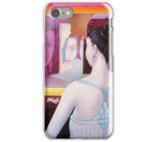 Girl in mirror iPhone Case/Skin