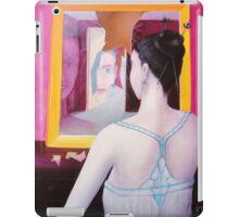 Girl in mirror iPad Case/Skin