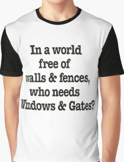 Windows & Gates Graphic T-Shirt