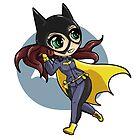 chibi batgirl escapes! by redpixel