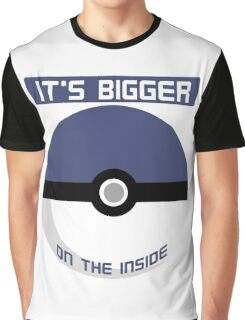 It's bigger on the inside Graphic T-Shirt