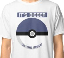 It's bigger on the inside Classic T-Shirt