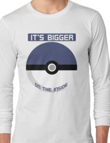 It's bigger on the inside Long Sleeve T-Shirt