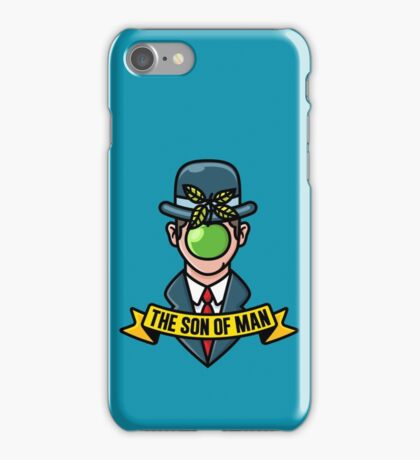 The son of man  iPhone Case/Skin