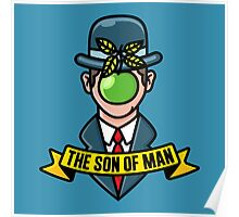 The son of man  Poster
