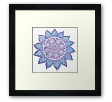 Mandala magic Framed Print