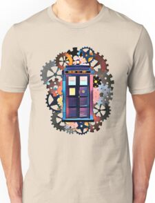 Colorful TARDIS Art Unisex T-Shirt