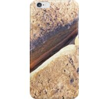 cable beach rock pattern iPhone Case/Skin