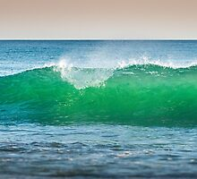 Indian ocean wave by Szabolcs Hant