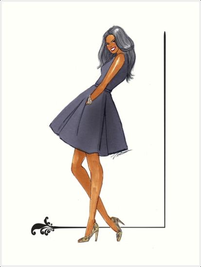 Little Black Dress by Veronica Miller Jamison