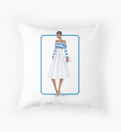 Bold and Striped Throw Pillow