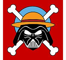 darth vader one piece fan  Photographic Print