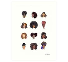 How To Be Curly Art Print
