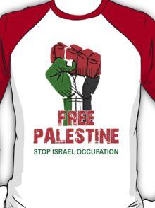 Free Palestine end Israeli Occupation, PRAY FOR GAZA T-Shirt