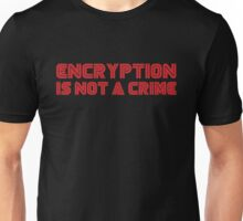 MR. ROBOT Encryption is not a Crime Unisex T-Shirt