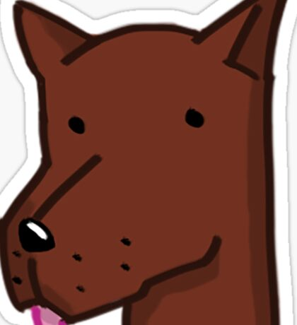 Good pupper collection - Alert doggo Sticker