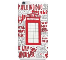 Take Me Home Tour 2013 iPhone Case/Skin