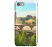Mist Over St Anthony Falls iPhone Case/Skin