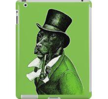 Gentleman Doggo iPad Case/Skin