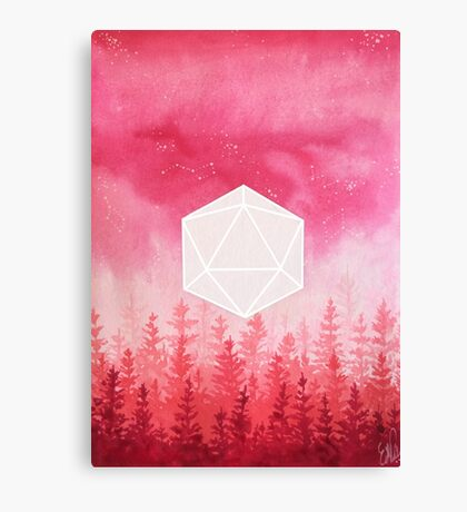 //Real Red// Canvas Print