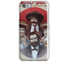 Performing Arts Posters Hurly Burly Extravaganza and Refined Vaudeville 0343 iPhone Case/Skin
