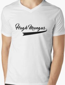 Old School, Dad Hugh Mungus Mens V-Neck T-Shirt