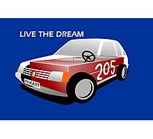 Peugeot 205 soap box  Photographic Print