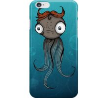 Cute sad creature iPhone Case/Skin