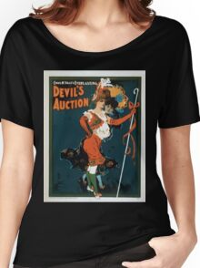 Performing Arts Posters Chas H Yales everlasting Devils auction 0043 Women's Relaxed Fit T-Shirt