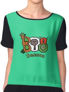 Boo Season Women's Chiffon Top