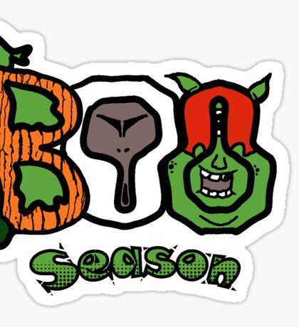 Boo Season Sticker