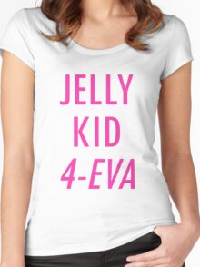 Jelly Kid 4-Eva Women's Fitted Scoop T-Shirt