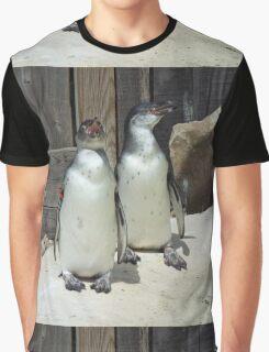 Grumpy Penguins Graphic T-Shirt