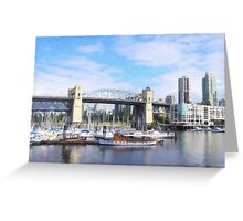 Burrard Bridge Greeting Card