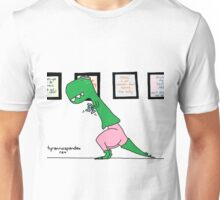 tyrannospandex rex Unisex T-Shirt