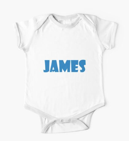 James (Blue) One Piece - Short Sleeve