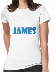 James (Blue) Womens Fitted T-Shirt