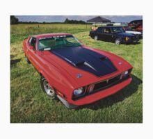 1973 Ford Mustang Mach 1  Kids Tee