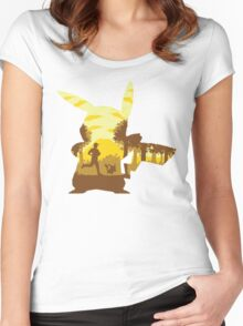 Silhouette Pika Team Instinct  Women's Fitted Scoop T-Shirt