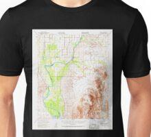 USGS TOPO Map Arizona AZ Cibola 314480 1951 62500 Unisex T-Shirt
