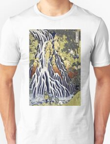 Hokusai Katsushika - The Kirifuri Waterfall  Unisex T-Shirt